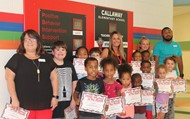 August PBIS Students and Teacher of the Month