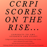 CCRPI Scores on the Rise