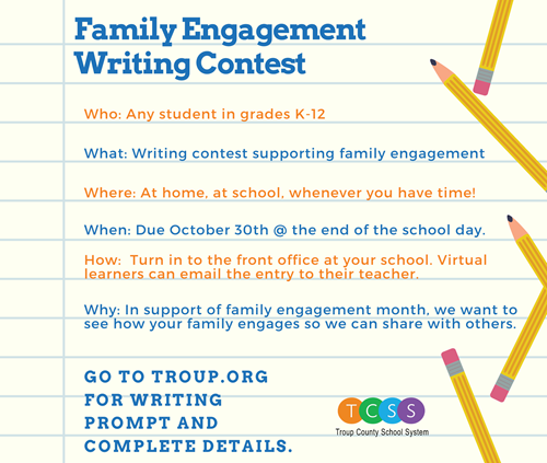 Writing Contest Graphic