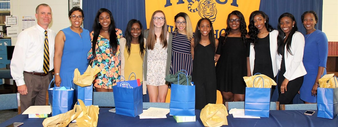 Academic Signing Day for She's D.O.P.E. Members @ THS