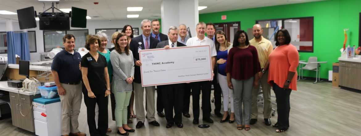 WellStar Donation to THINC Healthcare
