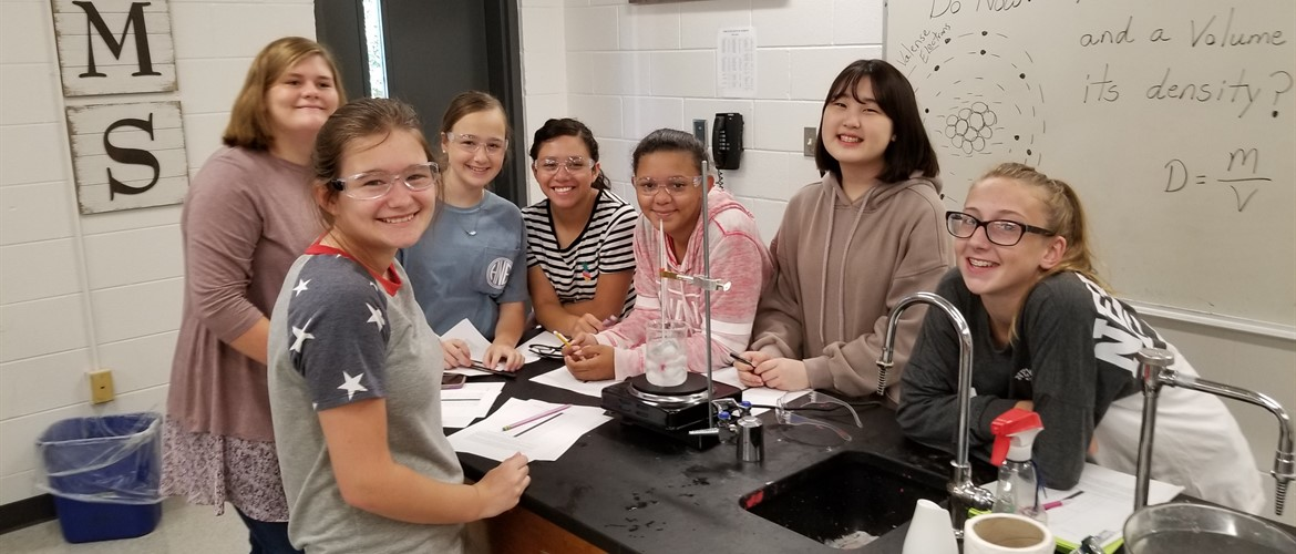 Mr. Stodghill's class investigates heat waves.