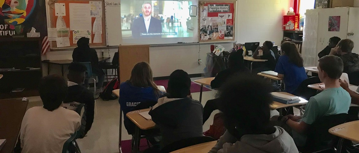 Ms. Desa Fuller's Georgia Studies Classes watched a webinar hosted by the 9/11 Memorial and Museum.