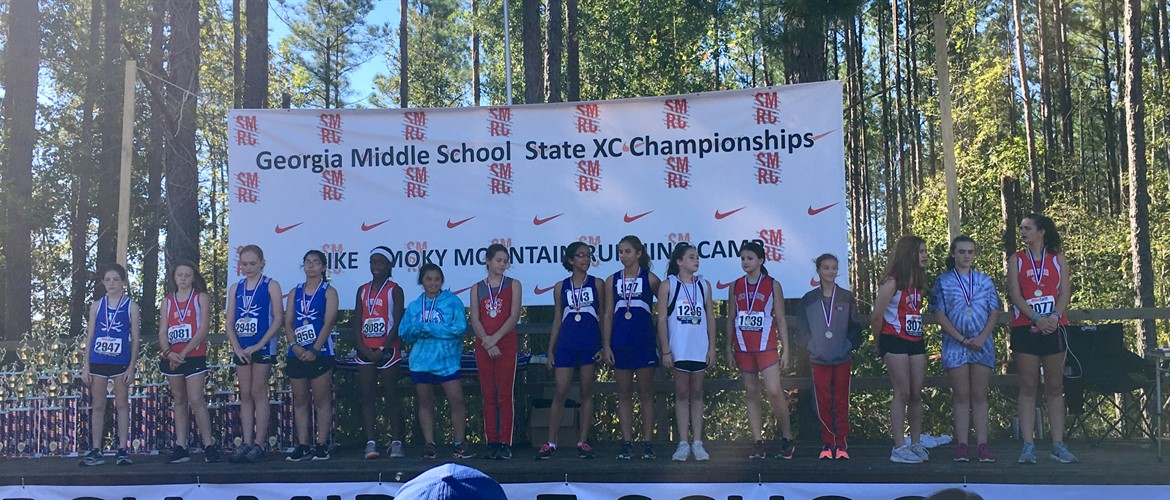 Abbie Lundy and Emma Gabriel bring home medals from State!