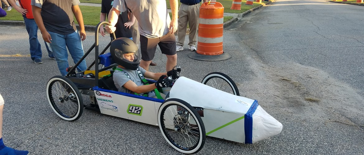 GNMS Greenpower Racing Car