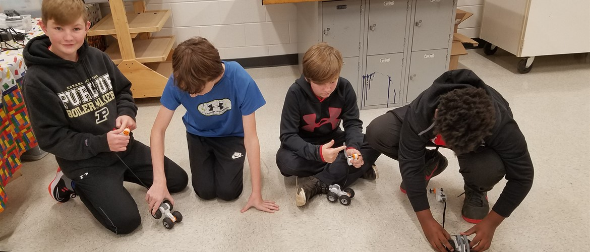 GNMS Students Design and Build Cars