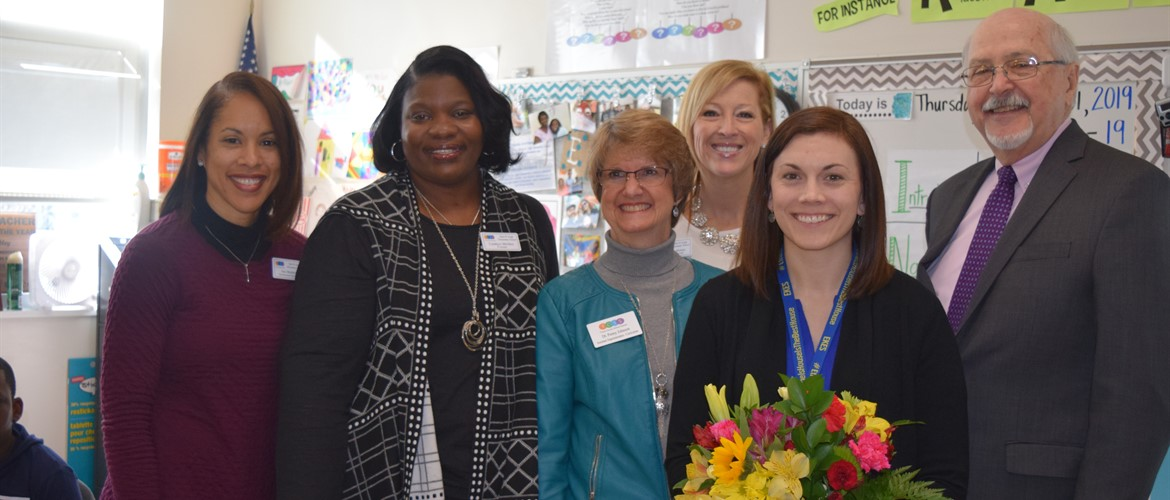 Congratulations to Mrs. Mobley, Elementary TOTY!