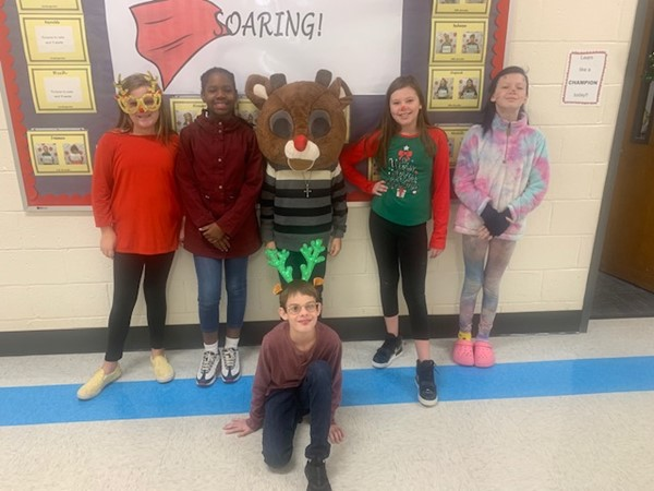 Ms. Shepard's 5th Grade Reindeer