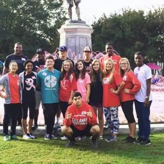 Student Council Members Volunteer - Callaway High School