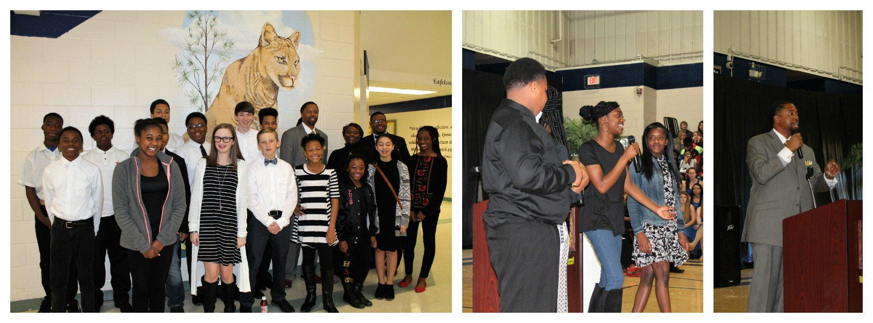 Long Cane Middle's Black History Program