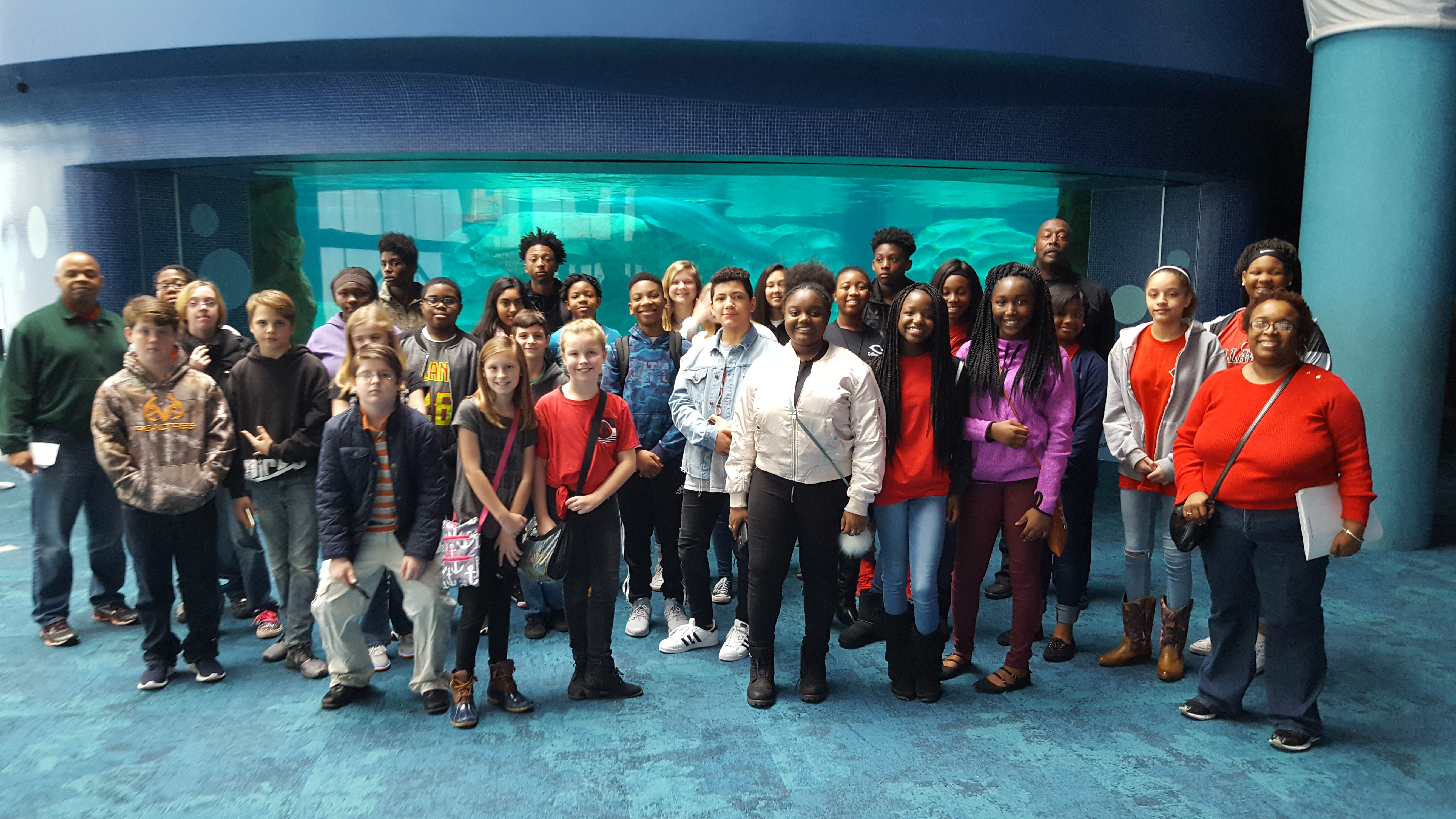 Callaway Middle Aquarium and MLK Trip
