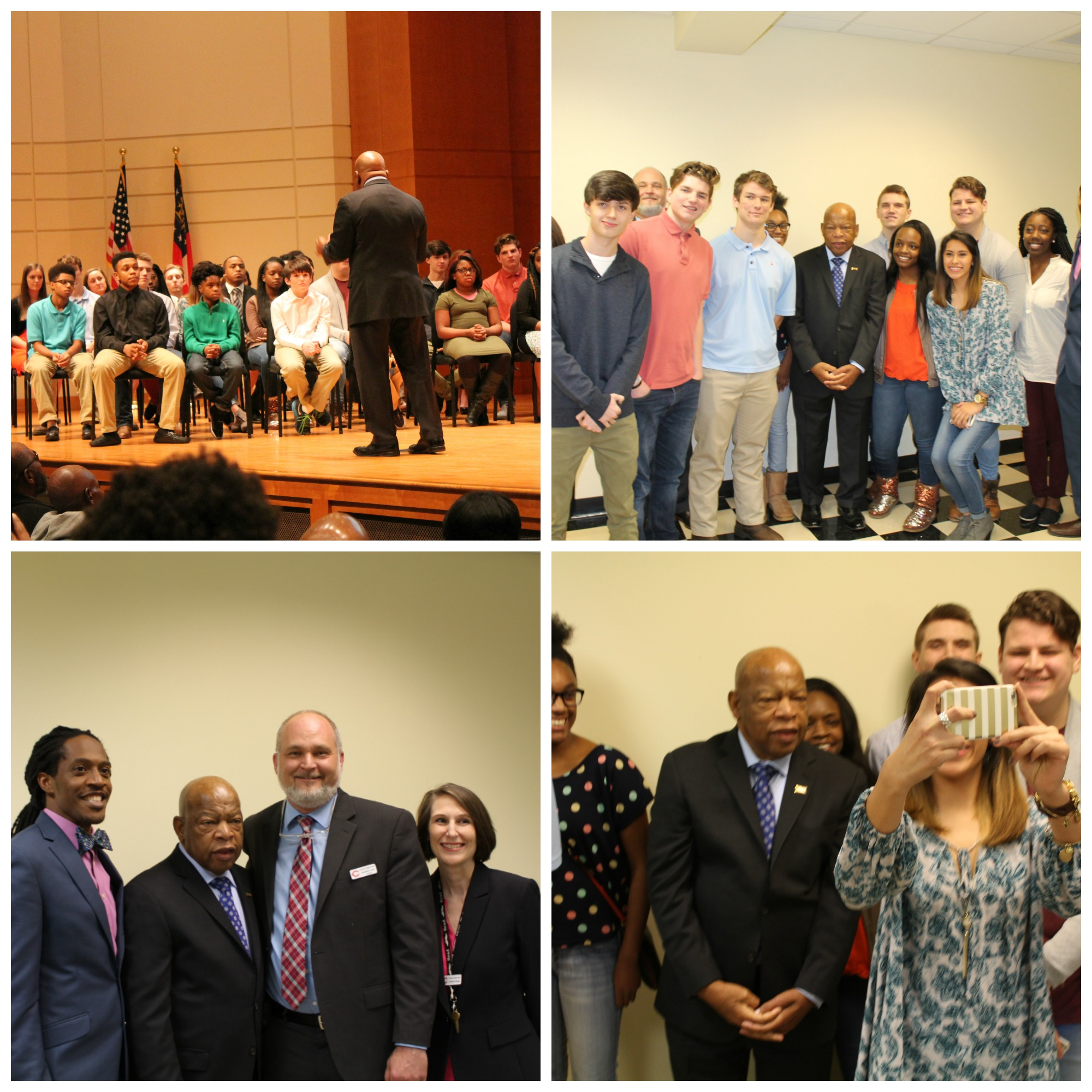 John Lewis and Students