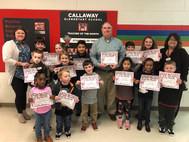PBIS Employee & Students of the Month