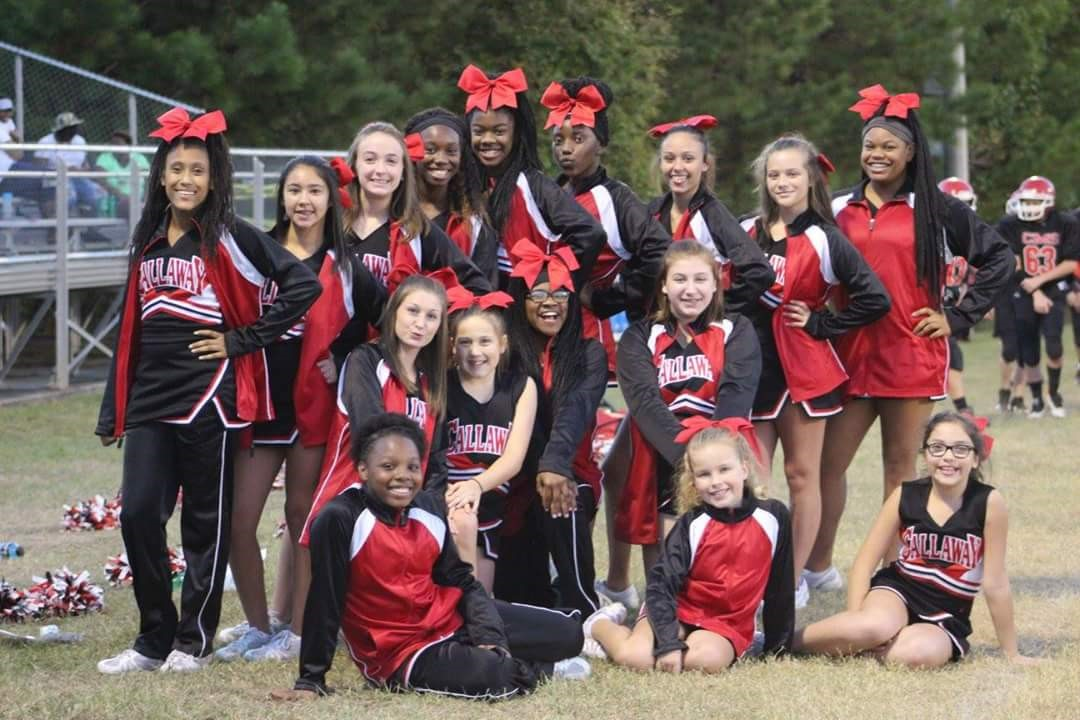 CMS Football Cheerleaders