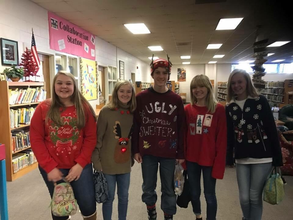Ugly Sweater Day @ GNMS