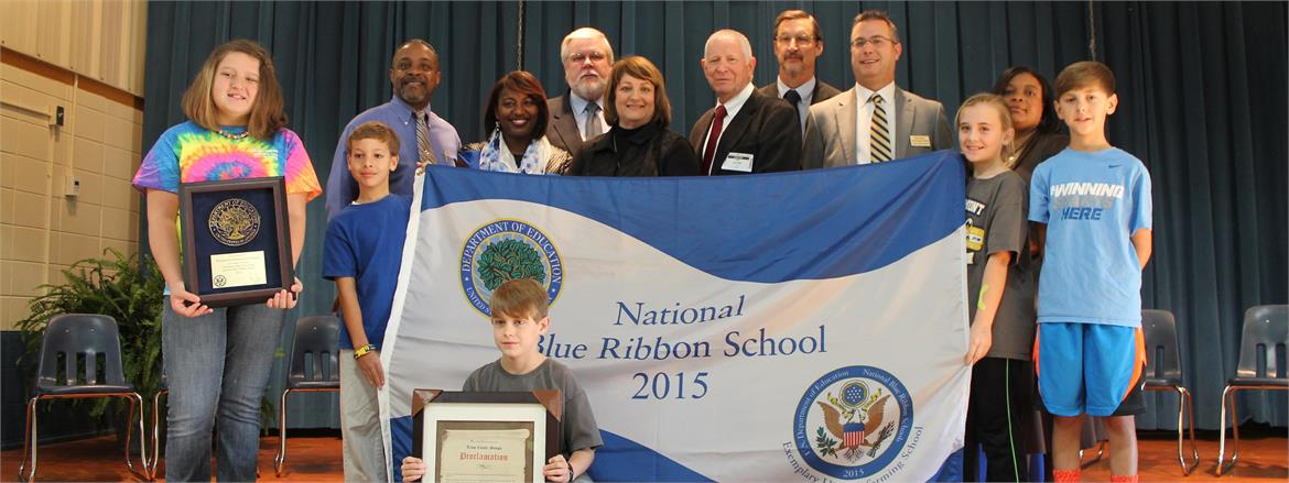 Rosemont Elementary is a National Blue Ribbon School