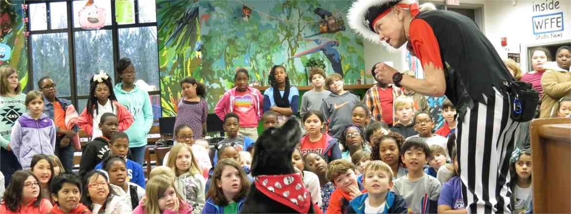 Franklin Forest Students Enjoy Dog Show