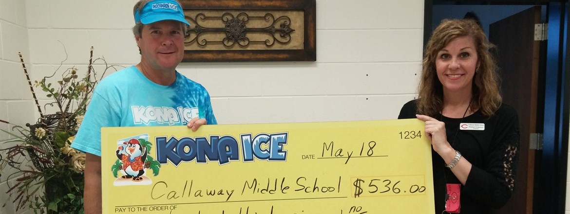 Kona Ice Gives Back to CMS