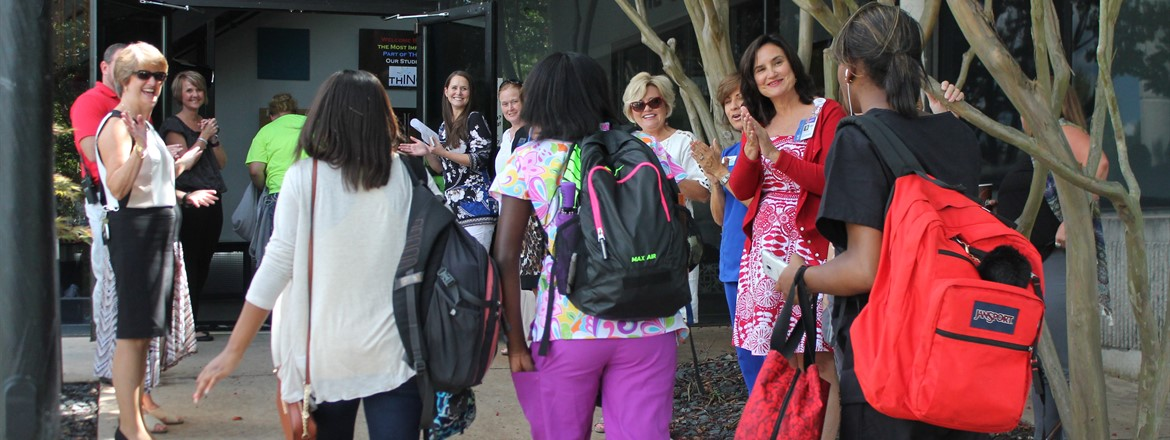 Community & Staff Welcome THINC Students back to school!