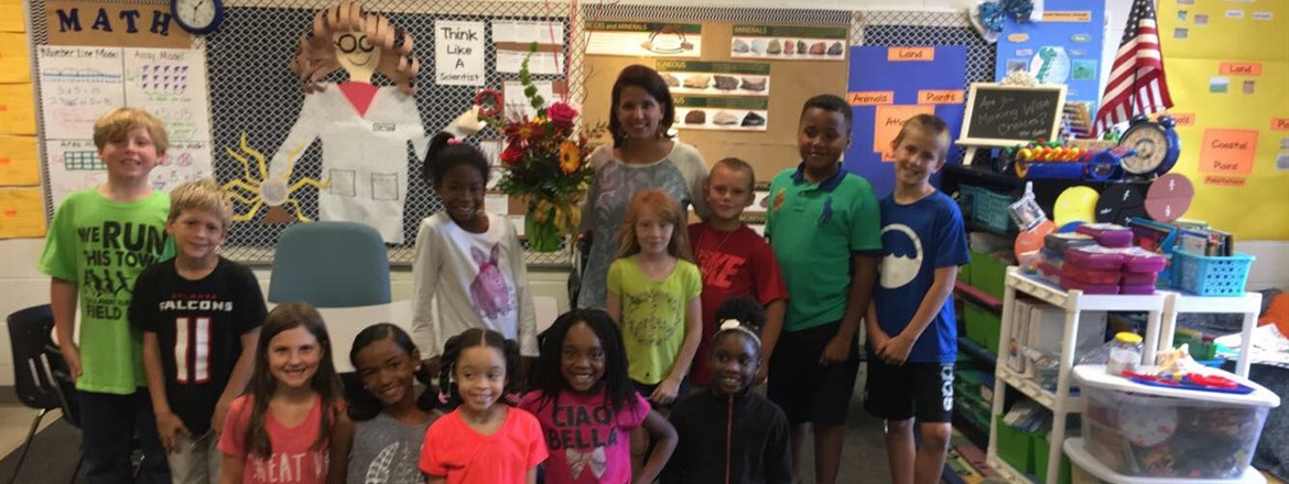 Congratulations to Mrs. Patton, 2017-2018 Teacher of the Year!