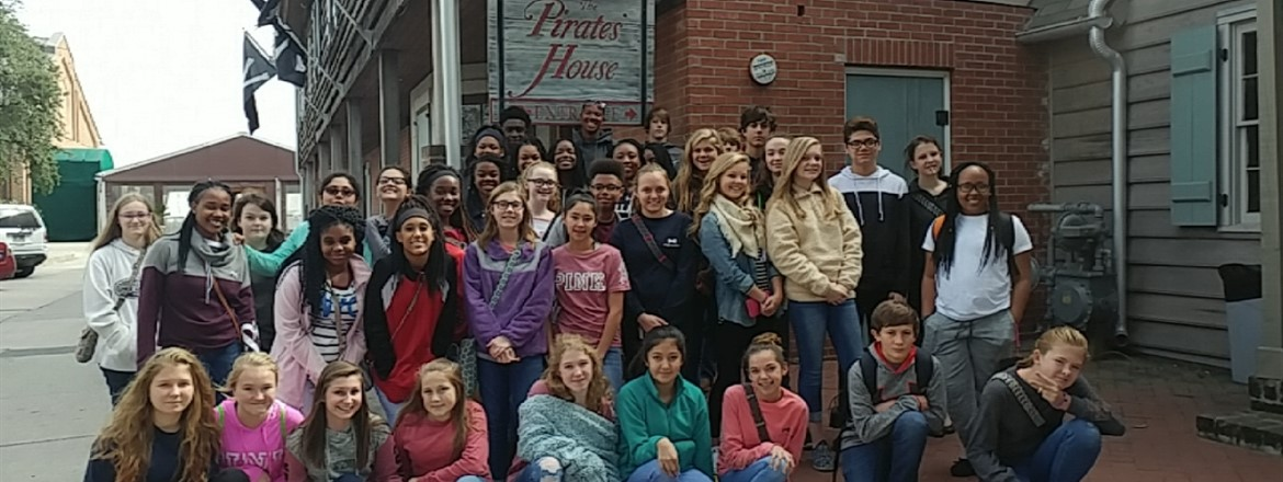 8th Grade Georgia Studies Tour