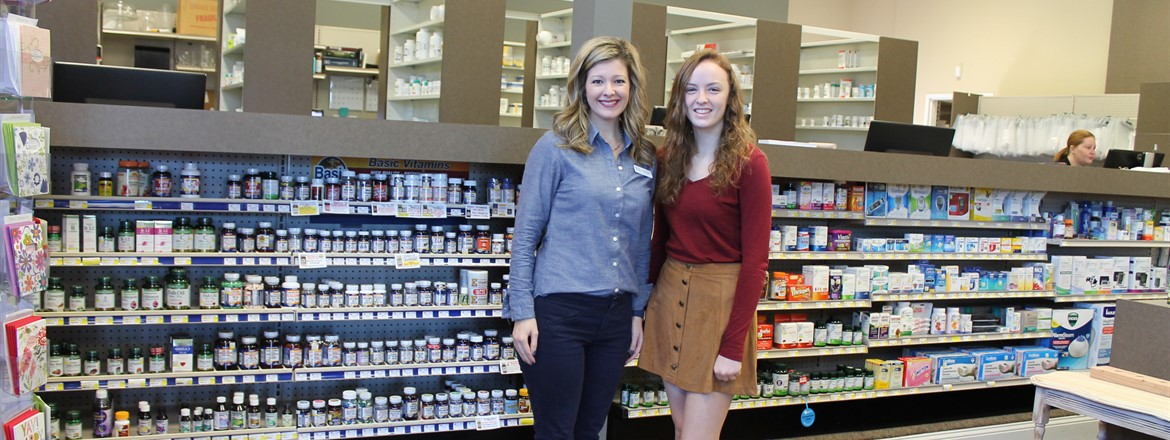 LHS Student Cady Wortham Job Shadows @ The Medicine Cabinet