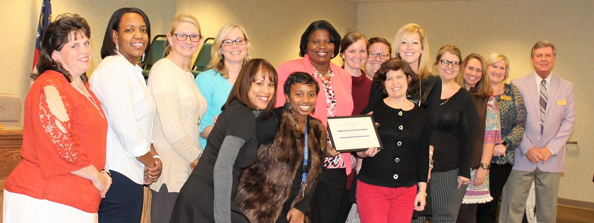 Ethel W. Kight Elem. Recognized as an Outstanding PBIS School