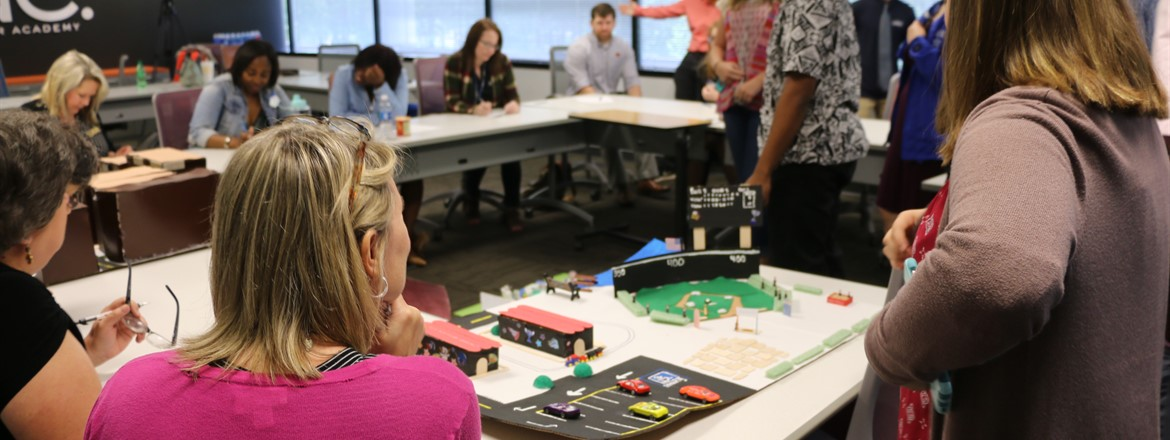 Local Officials Review Students' City Improvement Ideas (PBL)