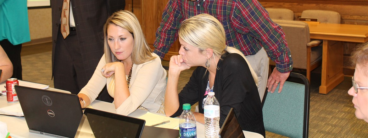 GNMS Works on School Improvement Plan