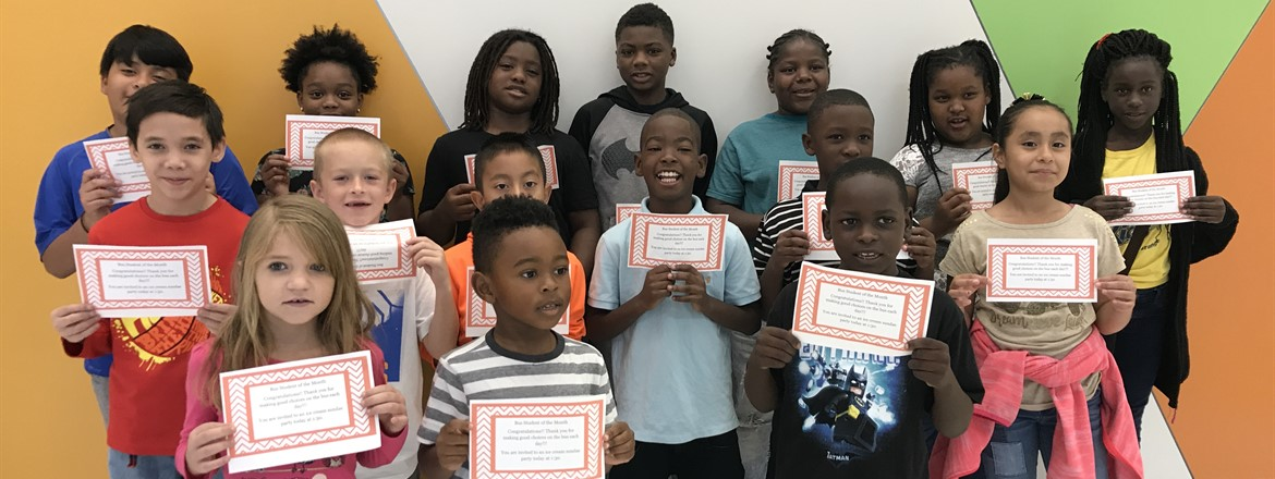September Bus Students of the Month