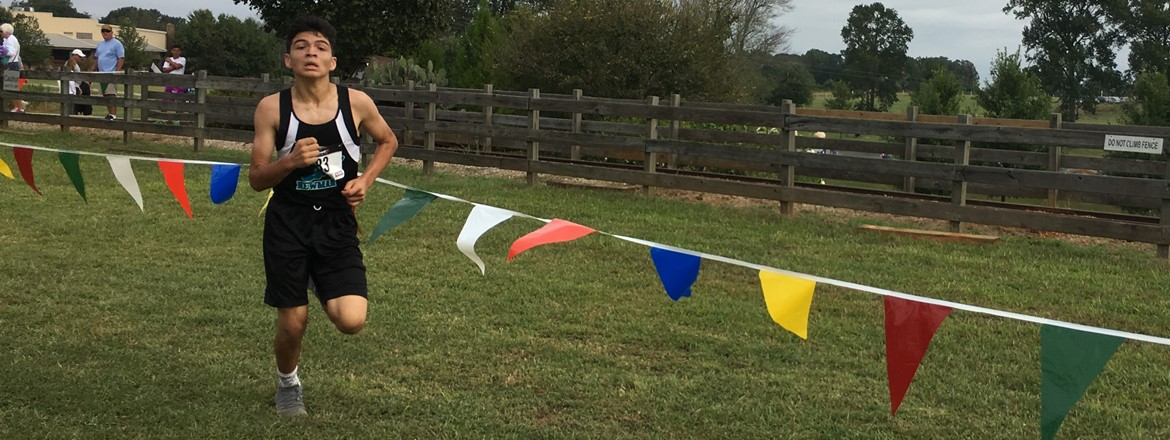 GNMS' Christian Ceja placed 1st in the Rock Ranch Invitational!