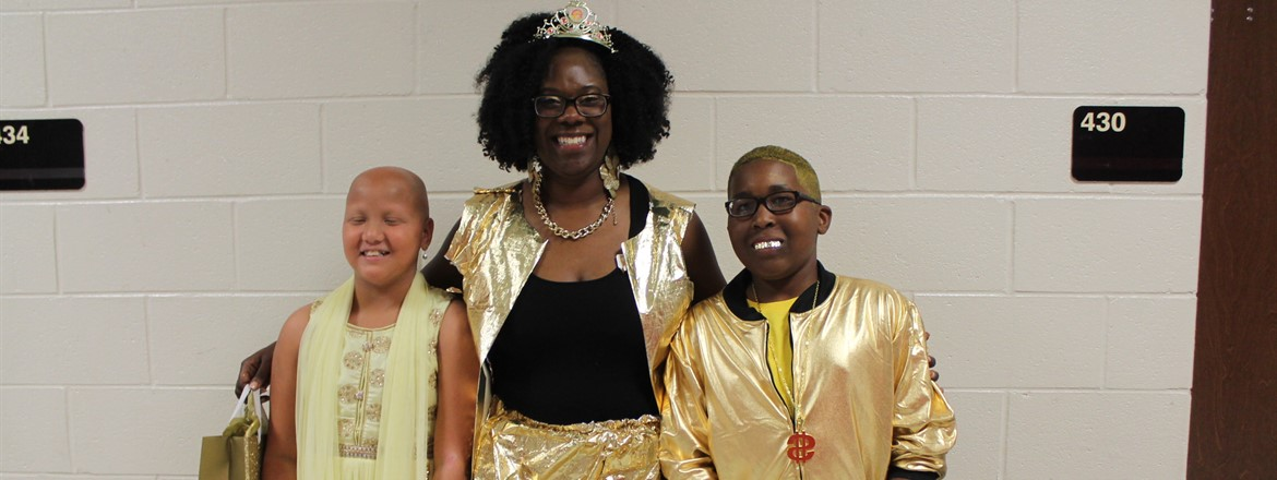 "Childhood Cancer Awareness, ""How Gold Can You Go"" contest winners October 2017"