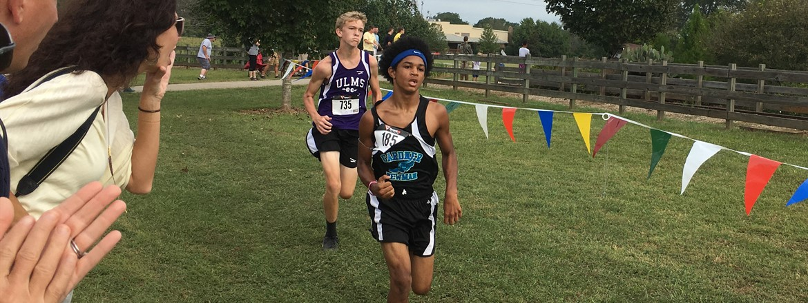 Isaiah Coleman, from GNMS, placed 3rd in the Rock Ranch Invitational!