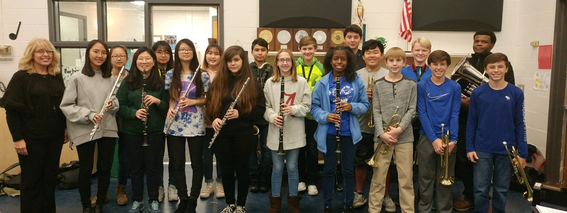 GMEA All District Honors' Band with Ms. Janet Barber