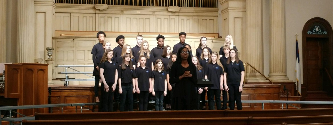 Chorus represented GNMS at the Large Group Performance Evaluation @ First Baptist Church of Columbus. Great job Mustangs!