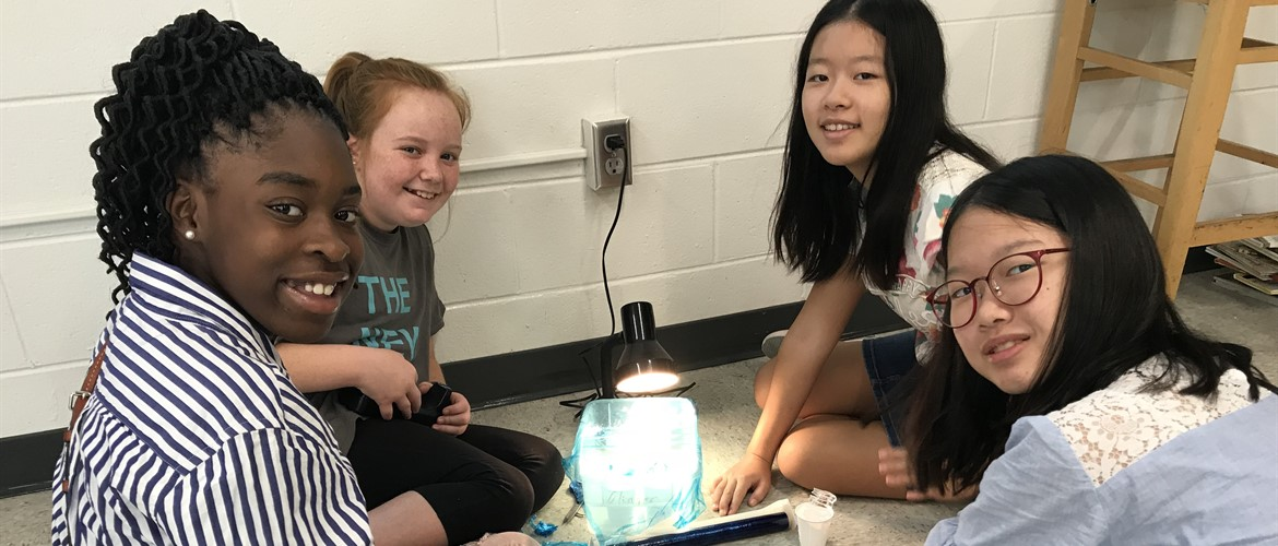 6th Graders learn about the water cycle