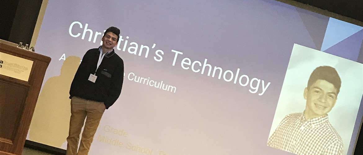 Christian Ceja Presents at GA Tech Conference