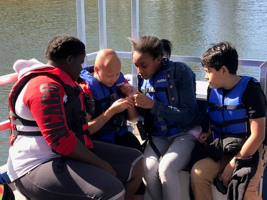 6th grade learn about the Chattahoochee River