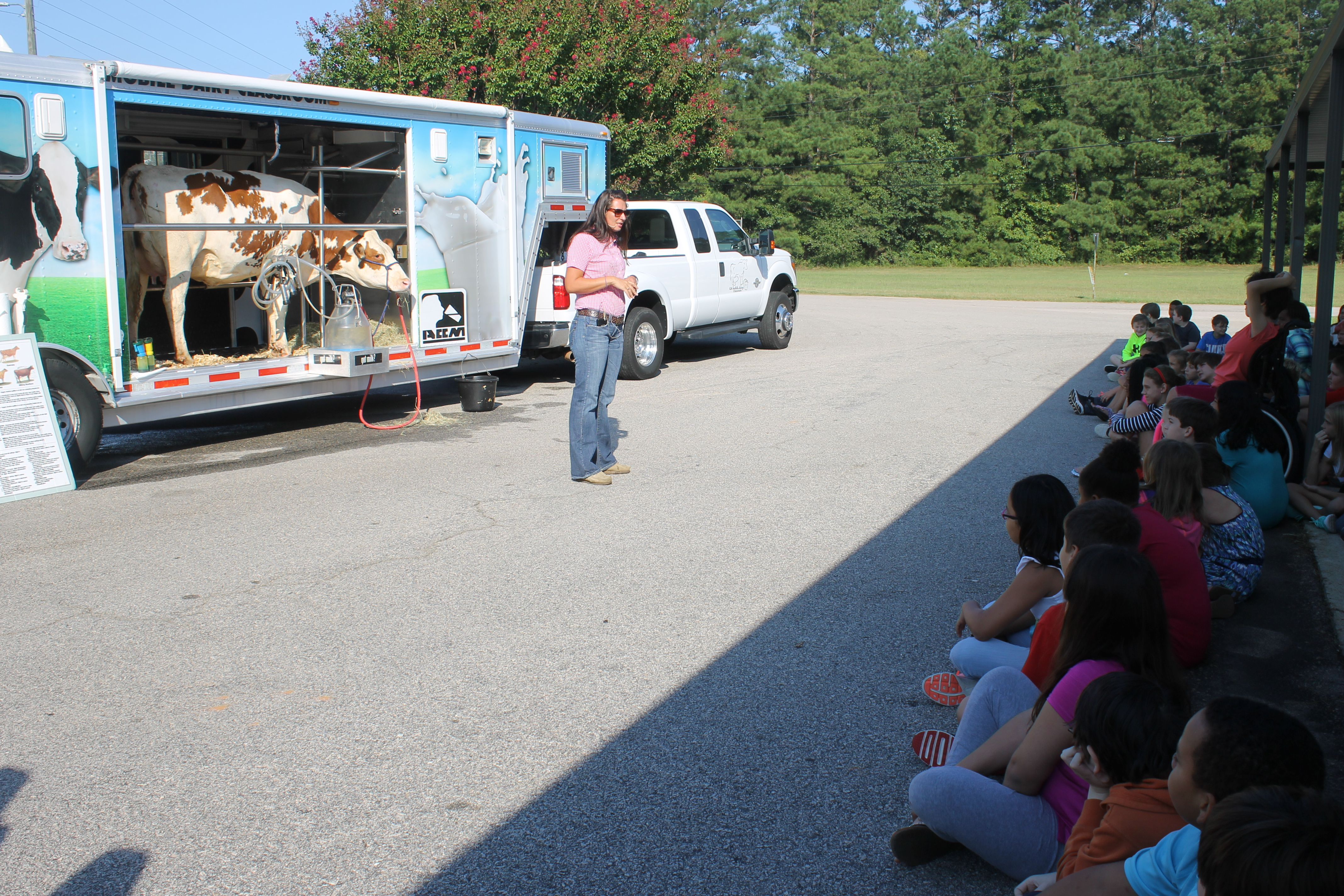 Hillcrest Thanks Georgia Milk Producers and Troup County Farm Bureau for visiting our students.