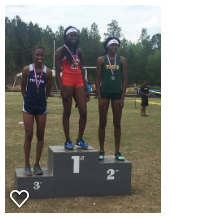 Aniya Simpson Region 5AA 400Meter Run 1st Place Winner