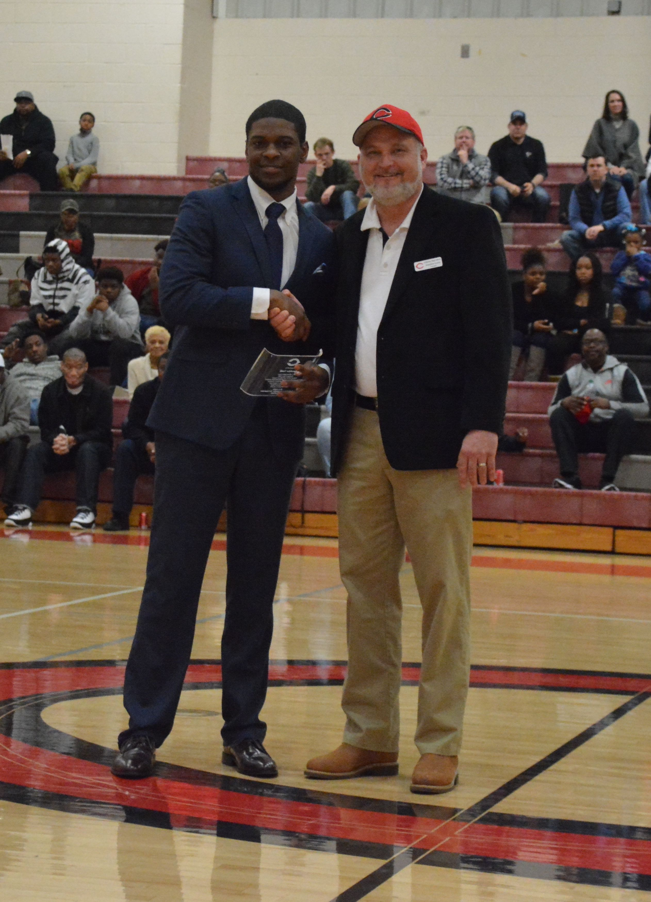 Demetrius Smith inducted into CHS Hall of Fame