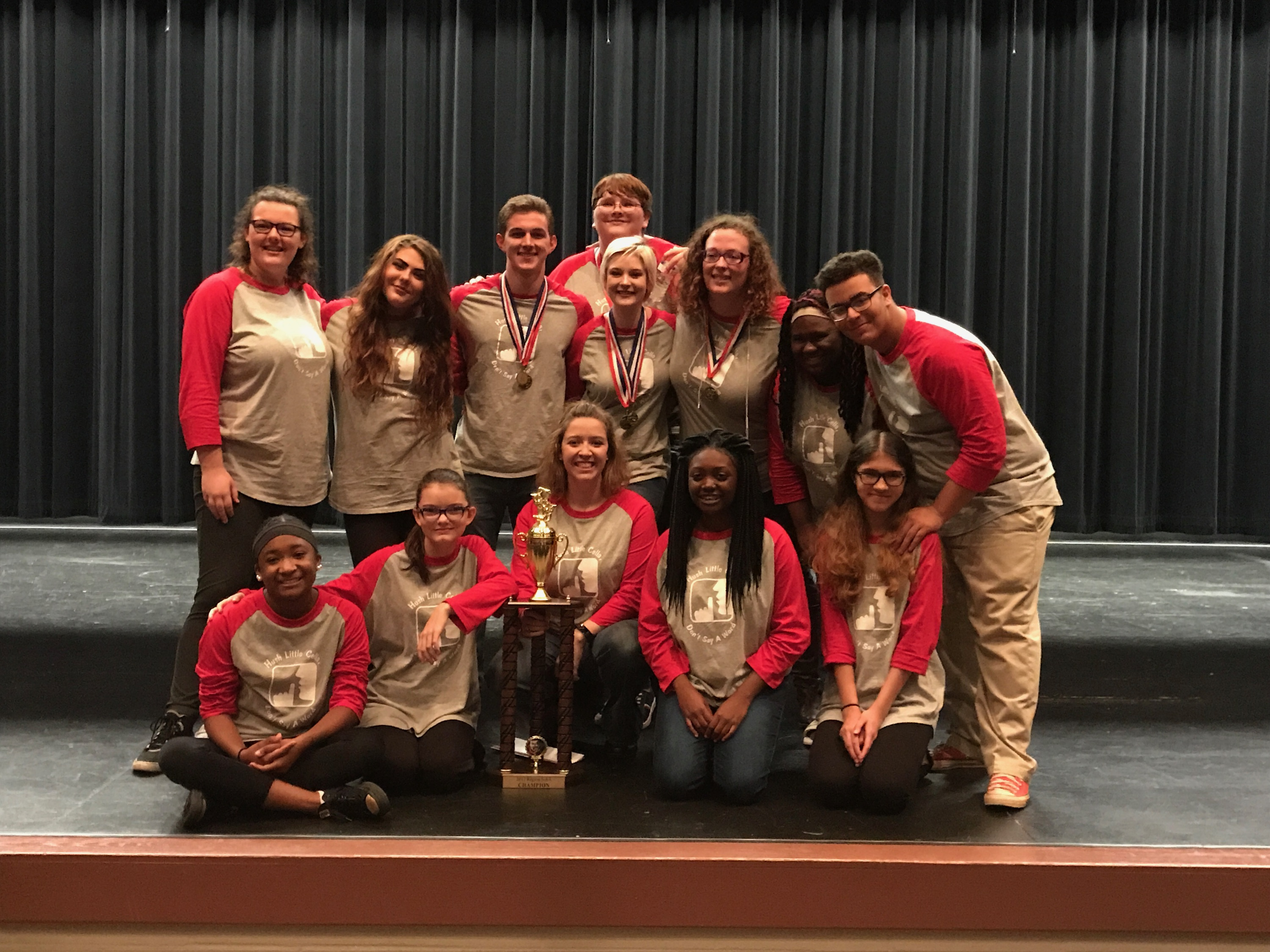 One Act Play Wins Region Title