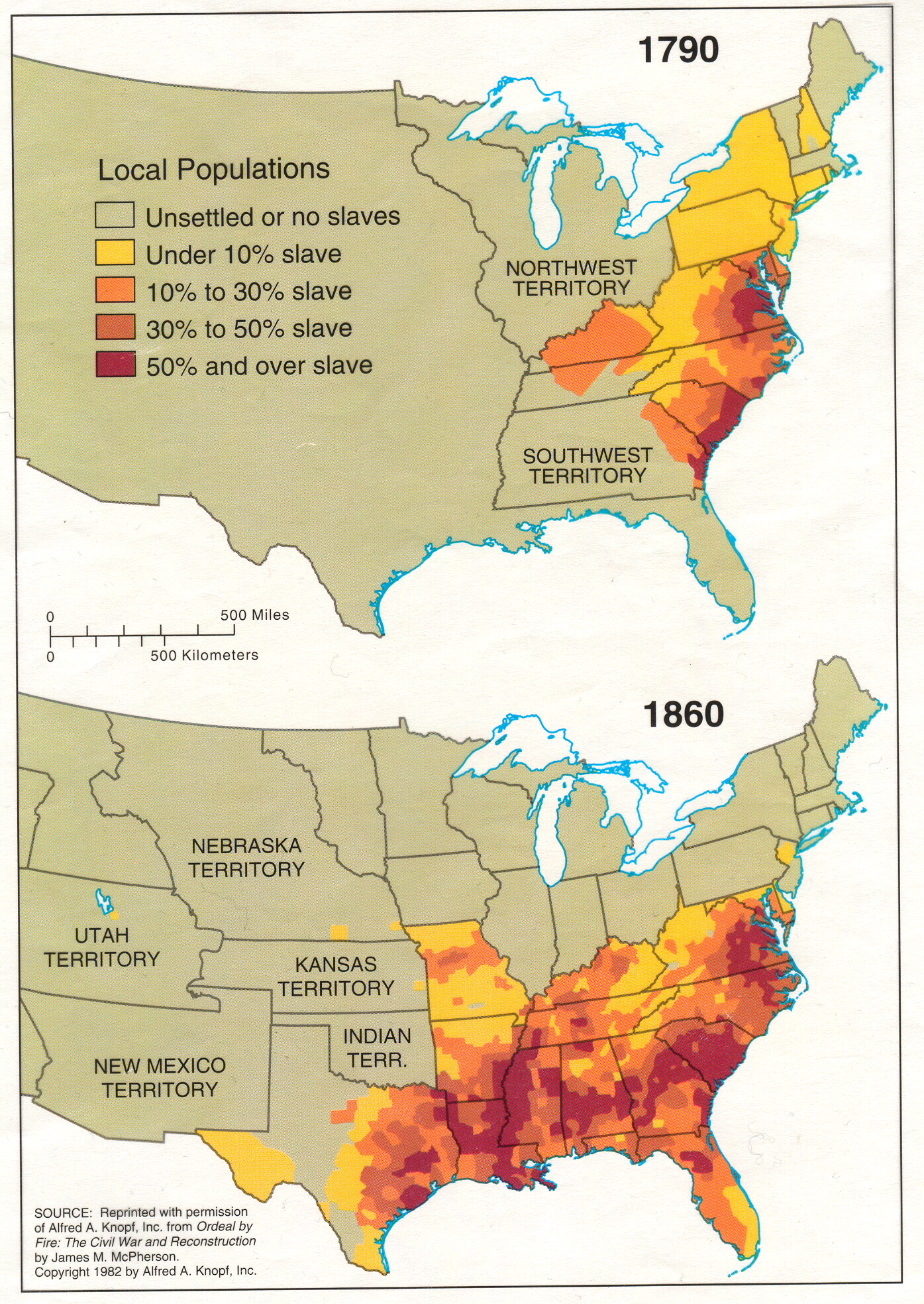 8 grade social studies civil war and reconstruction unit information slavery map cotton